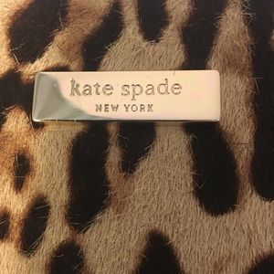 Kate Spade calf hair leopard purse/satchel